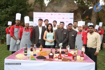 Celebrities at Christmas Cake Mixing Ceremony