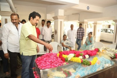 Celebrities Pay Homage To Director B Jaya Set 1