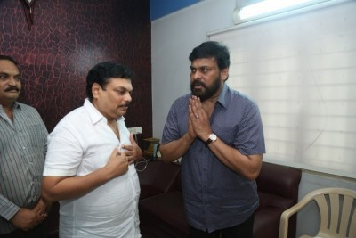 Chiranjeevi Pays Tribute To B Jaya