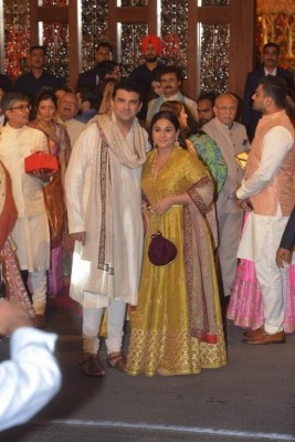 Isha Ambani and Anand Piramal Wedding Reception