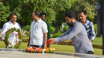 Janatha Garage Team at NTR Ghat