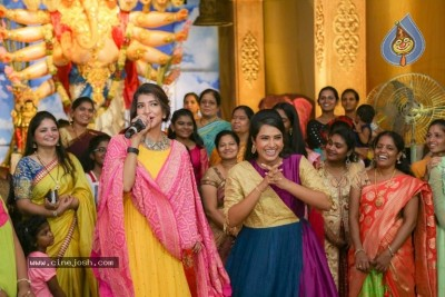 Lakshmi Manchu At OMG Association Ganesha Pooja