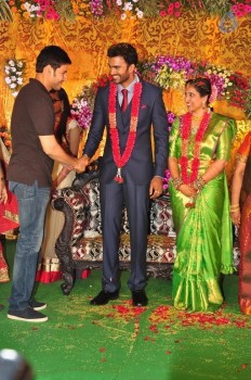Mahesh Babu at Hero Shiva Wedding Reception