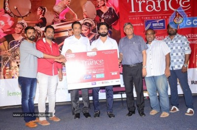 Navdeep At Trance Classical Dance Show Poster Launch