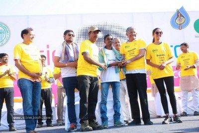 Niharika Flags Off Sight A Thon Blindfold 2k Walk