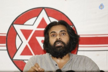 Pawan Kalyan Political Press Meet Photos :06-07-2015