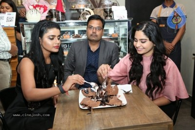Purvi Thakkar and Sumaya Choco Launched The Chocolate Room
