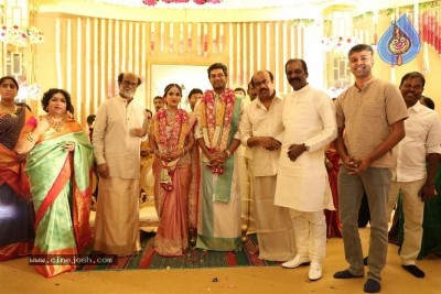 Rajinikanth Daughter Soundarya Wedding Photos