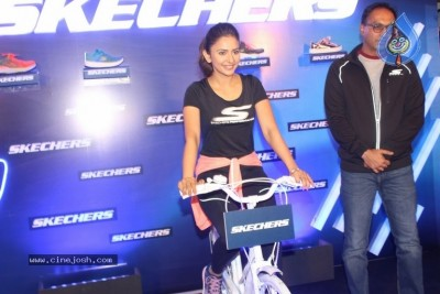 Rakul Preet Launches Skechers Showroom
