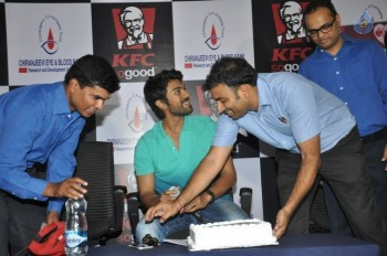 Ram Charan at KFC Employees Blood Donation Event