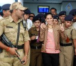 Saina Returns Home With Olympic Medal