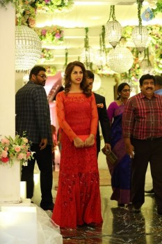 Sreeja and Kalyan Wedding Reception 5