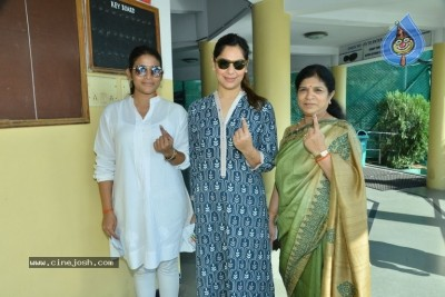 Tollywood Celebrities Cast Their Vote