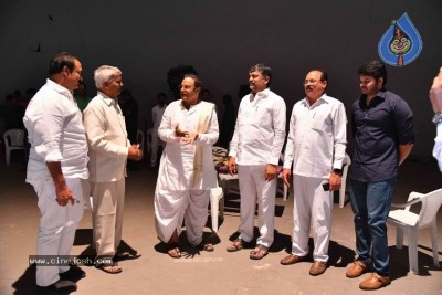 TTDP Leaders Meet Balakrishna On NTR Biopic Movie Sets