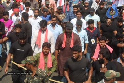 Varun Tej at Janasena Final Day Election Rally