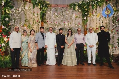 Venkatesh Daughter Asritha and Vinayak Reddy Wedding Reception