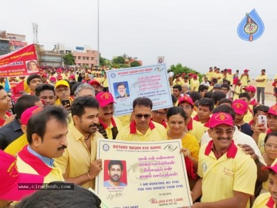 Vijay Antony At Eye Donation Campaign