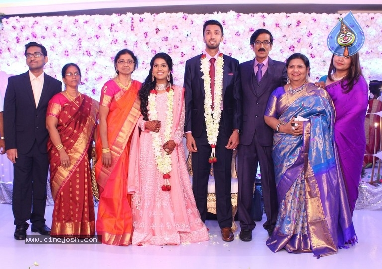 Actor Mano Bala Son Harish-Priya Wedding Reception - 1 / 57 photos