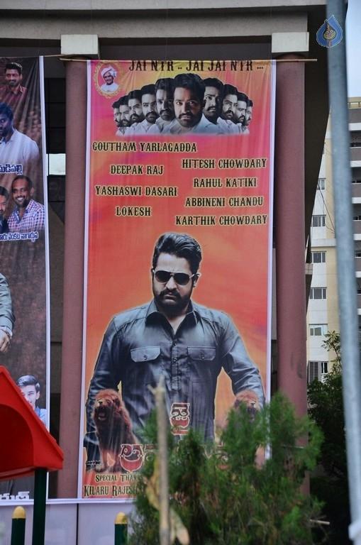 Bollywood Movies Jai Lava Kusa Hoarding...