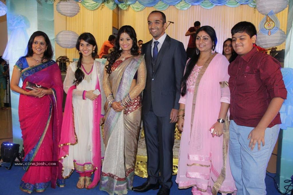 Lakshmy Ramakrishnan Daughters Wedding Reception  K