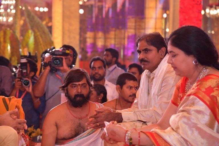 Ntv Director Daughter Rachana Marriage Photos Photo 25 Of 32
