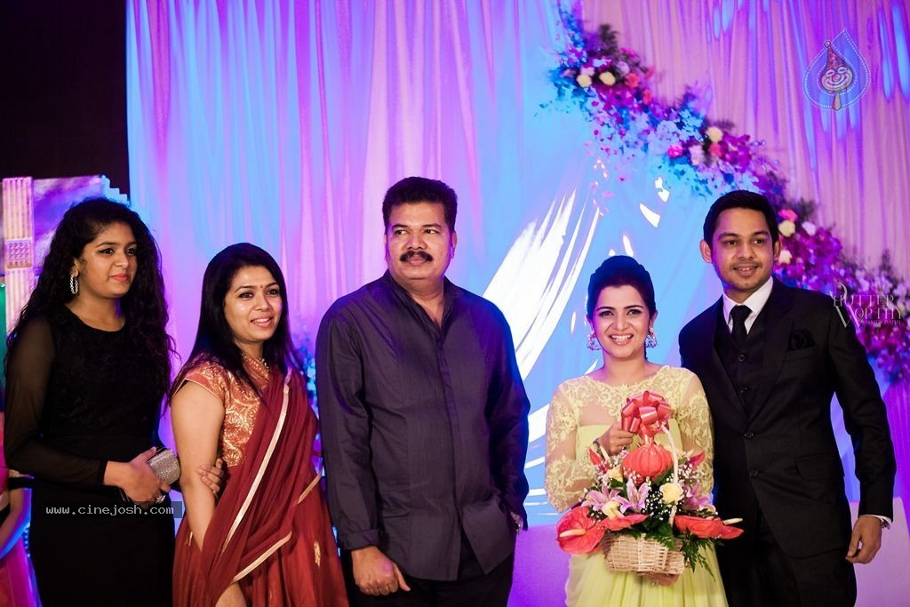 TV Anchor DD And Srikanth Wedding Reception   Click For Next Photo