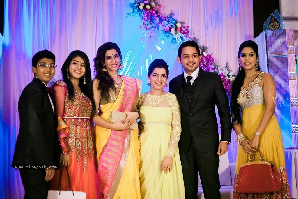 TV Anchor DD and Srikanth Wedding Reception - Click for next photo