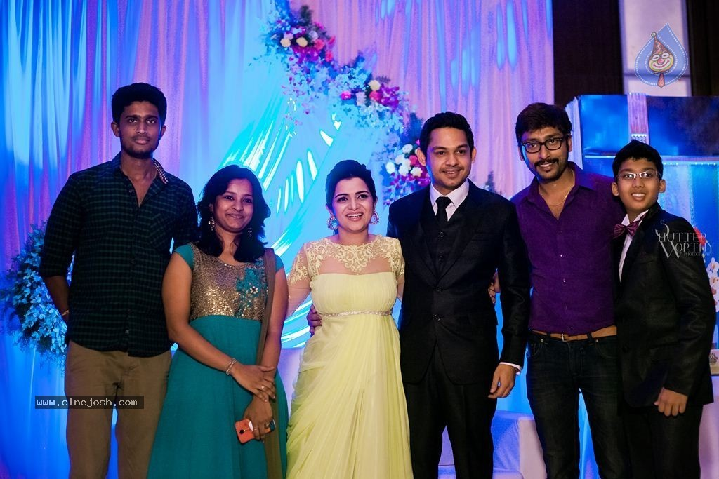 TV Anchor DD and Srikanth Wedding Reception - Click for first photo
