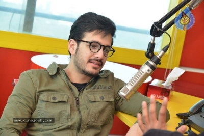 Akhil Akkineni at Radio Mirchi - 2 of 17