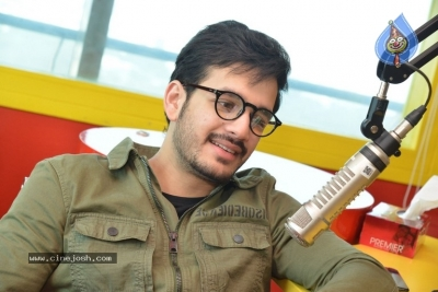 Akhil Akkineni at Radio Mirchi - 3 of 17