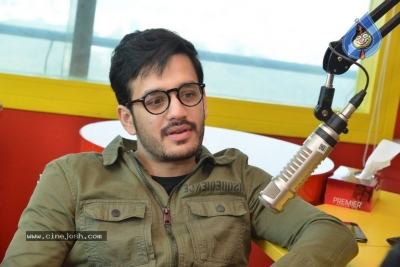 Akhil Akkineni at Radio Mirchi - 7 of 17