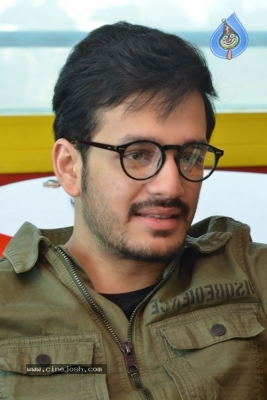 Akhil Akkineni at Radio Mirchi - 13 of 17