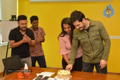 Akhil Akkineni at Radio Mirchi - 15 of 17