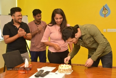 Akhil Akkineni at Radio Mirchi - 16 of 17