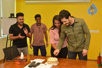 Akhil Akkineni at Radio Mirchi - 17 of 17