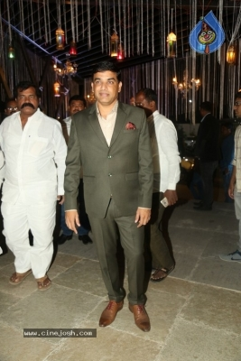 Celebrities at Harshit Reddy Wedding Reception - 7 of 65