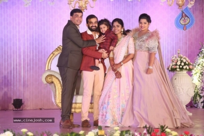 Celebrities at Harshit Reddy Wedding Reception - 12 of 65