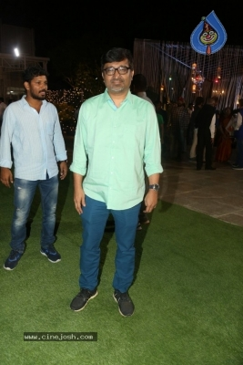 Celebrities at Harshit Reddy Wedding Reception - 18 of 65