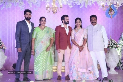 Celebrities at Harshit Reddy Wedding Reception - 19 of 65
