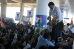 Chiru gets Rousing Reception at RGI Airport - 7 of 19