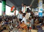 Chiru gets Rousing Reception at RGI Airport - 15 of 19