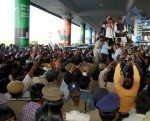 Chiru gets Rousing Reception at RGI Airport - 16 of 19