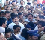 Chiru gets Rousing Reception at RGI Airport - 18 of 19
