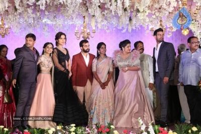 Harshith Reddy - Gowthami Wedding Reception - 7 of 40
