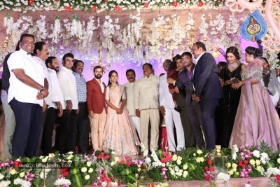 Harshith Reddy - Gowthami Wedding Reception - 19 of 40