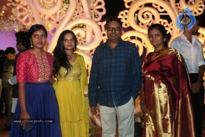 Harshith Reddy - Gowthami Wedding Reception - 21 of 40