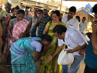 Manam Saitham Help To Titli Victims - 5 of 5