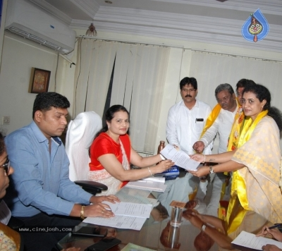 Nandamuri Suhasini To File Nomination - 2 of 11