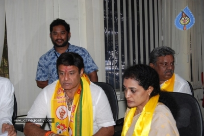 Nandamuri Suhasini To File Nomination - 6 of 11