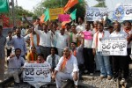 Telangana Activists Rail Roko Photos